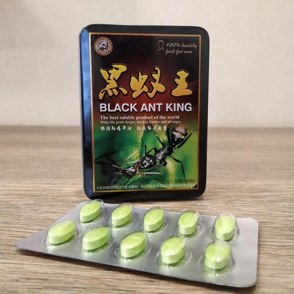 Что в составе у таблеток Королевский черный муравей