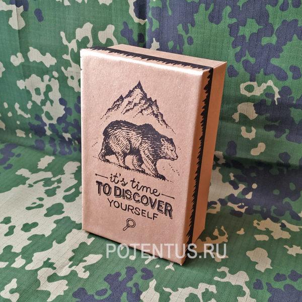 Купить подарочную коробку с принтом It's Time to Discover yourself