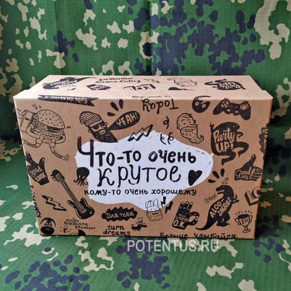 Подарочная коробка мужская Брутальность «Что-то очень крутое» 28 х 18.5 х 11.5 см